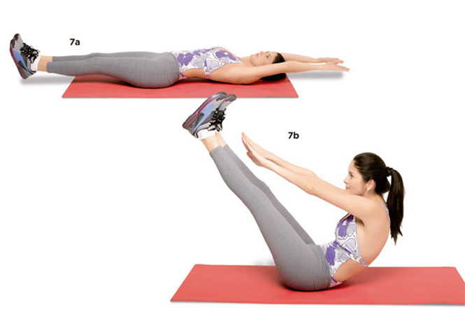 Exercícios para emagrecer e perder barriga Abdominal-V