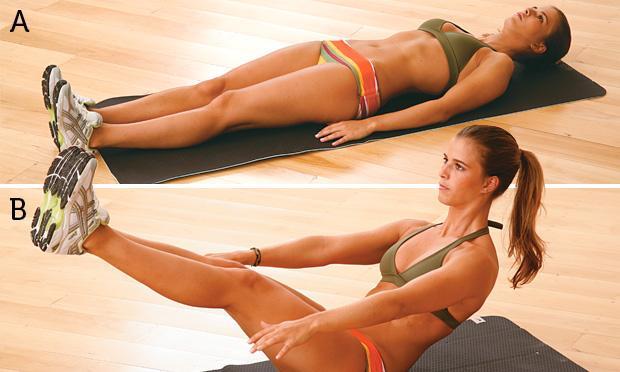 Exercícios para emagrecer e perder barriga ELEVAÇÃO-DE-PERNAS-E-TRONCO