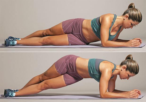Exercícios para emagrecer e perder barriga Prancha-lateral-com-torção